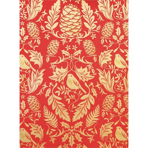 Ruskin Wrap Red